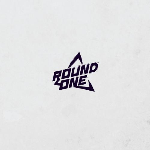 Grunge lettermark logo