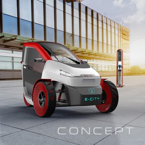 City electric vehicle concept