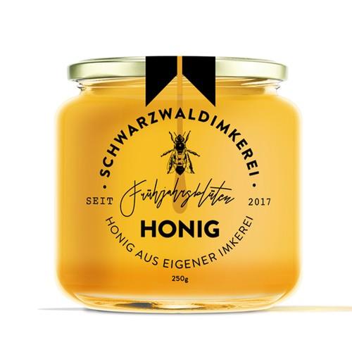 Honey Label -Schwarzwaldimkerei
