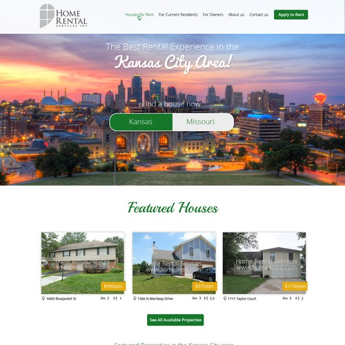 Home Rentals in Kansas City