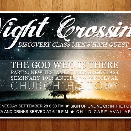 Night Crossing - Banner ad