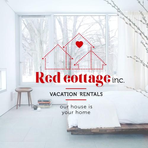 Logo concept for vacation rentals company