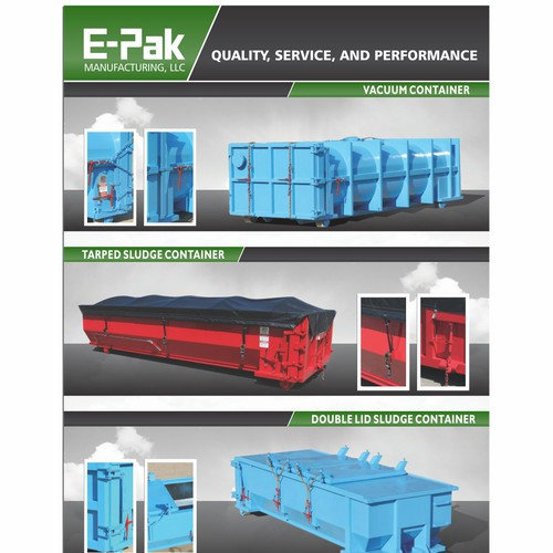 Create the next business or advertising for E-Pak Manufacturing, LLC