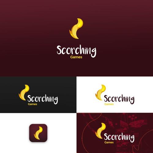 Scorching Games Logo
