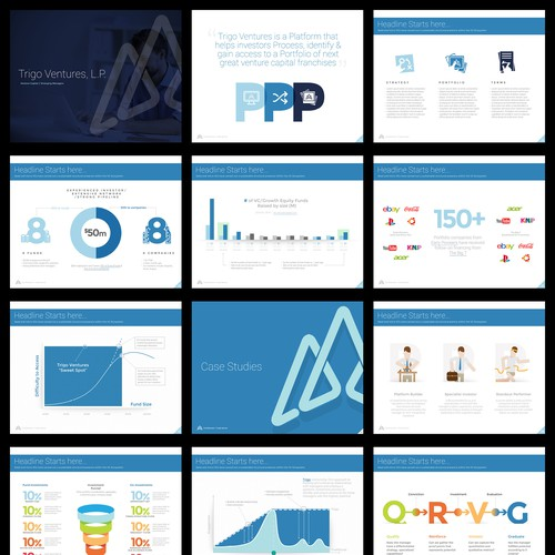"Powerpoint design for ""Trigo Ventures"""