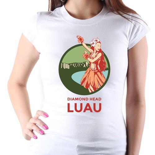 Create A Shirt Souvenir For The Hottest Luau In Hawaii
