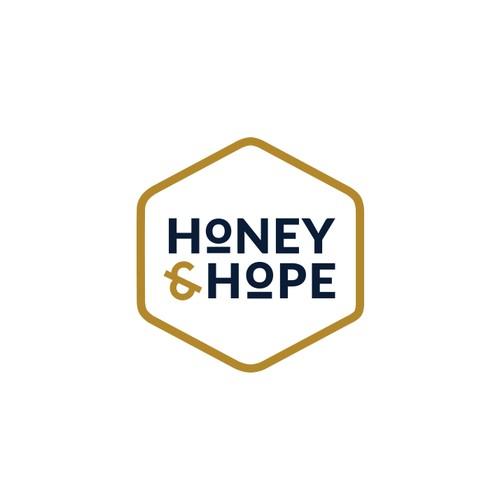 Logo concept for honey producer