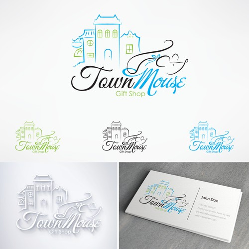 Town Mouse Gift Shop Logo
