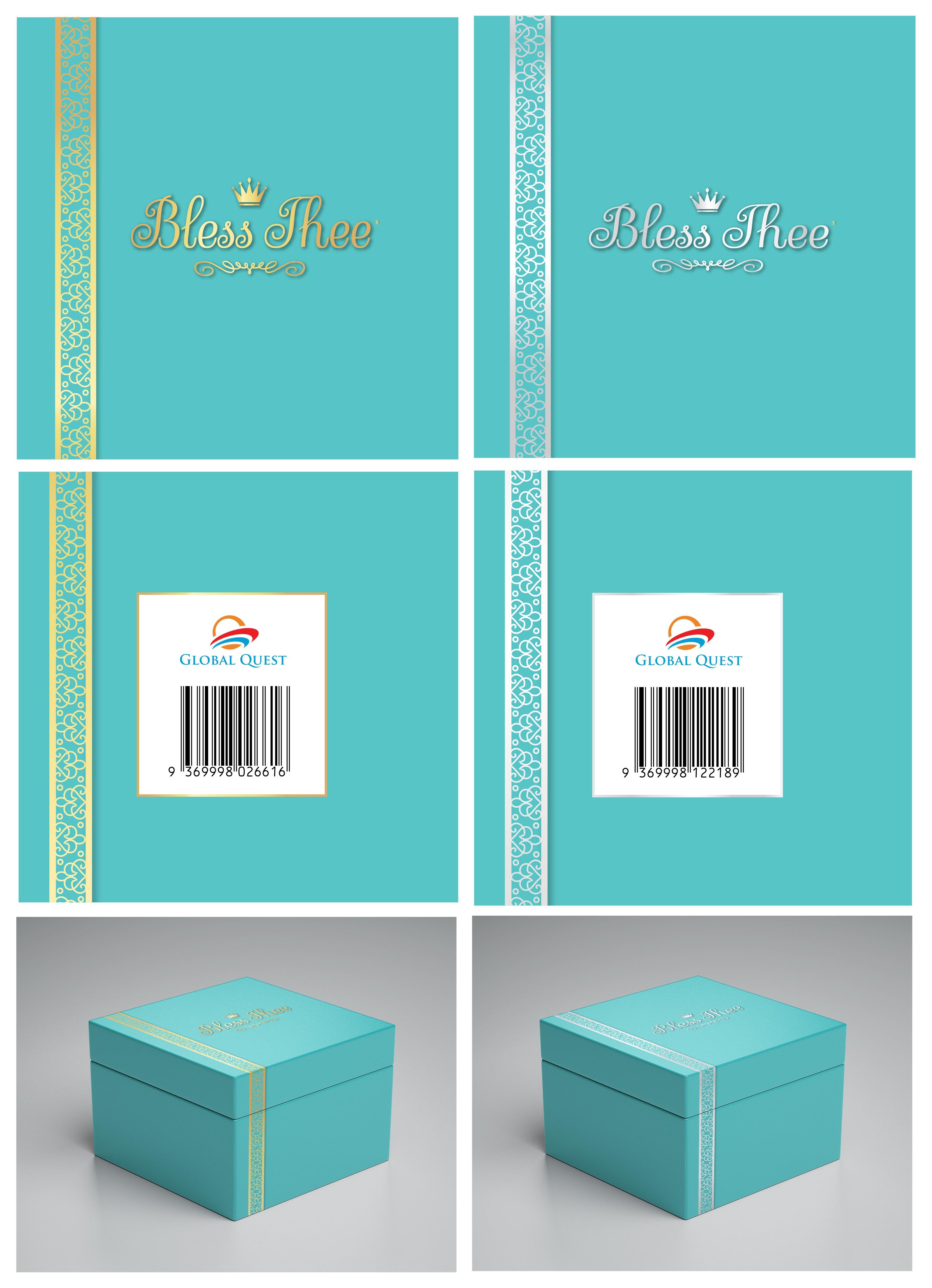 Design a Gift Box for a Crown Cake Topper - weddings, birthdays, births