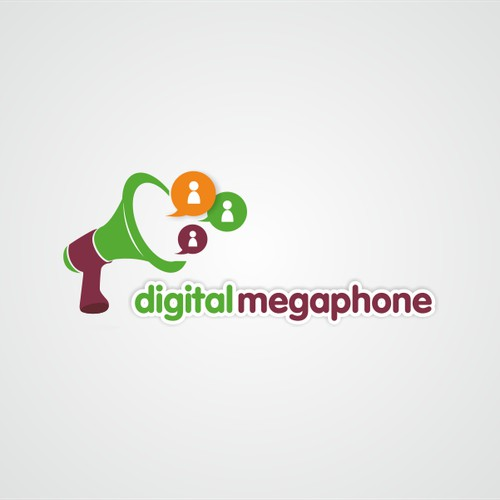 Logo for Digital Megaphone