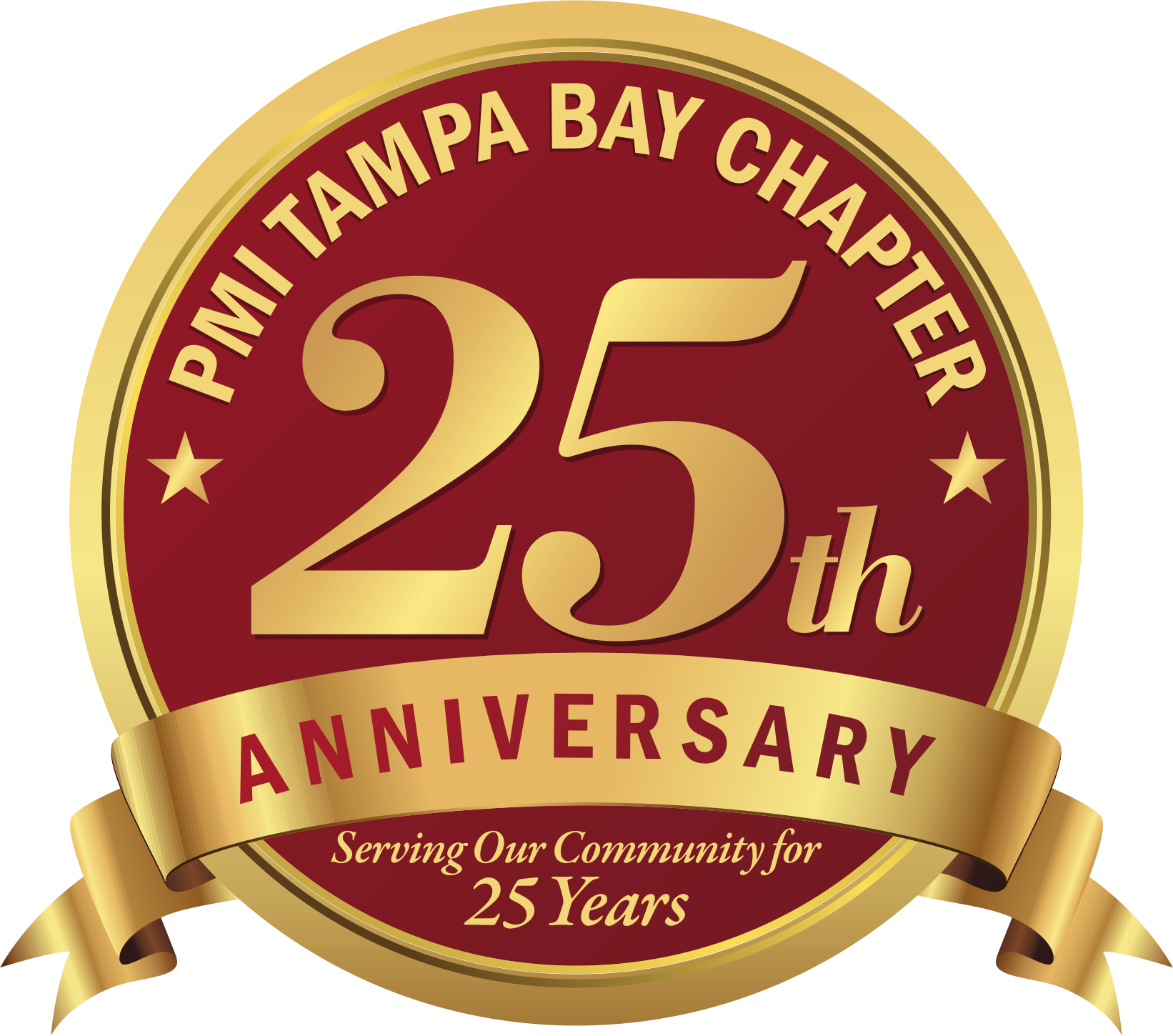 Tampa Bay Project Management Institute 25th Anniversary