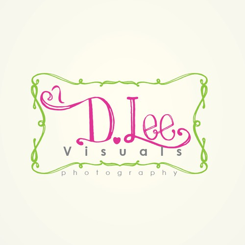 Whimsical logo for photographer