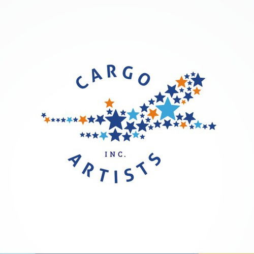 Logo for Cargo Artists Inc. Logistics for artistic events.