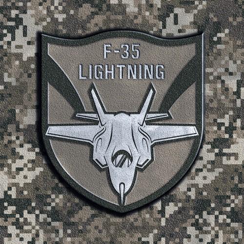 F -35 patch design