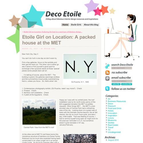 Decor Etoile, Wordpress Theme!