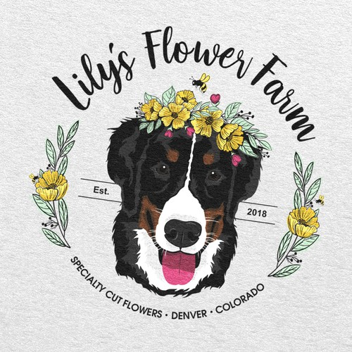 Logo Lilys Flower Farm