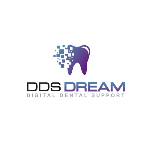logo for startup Digital Dental Support
