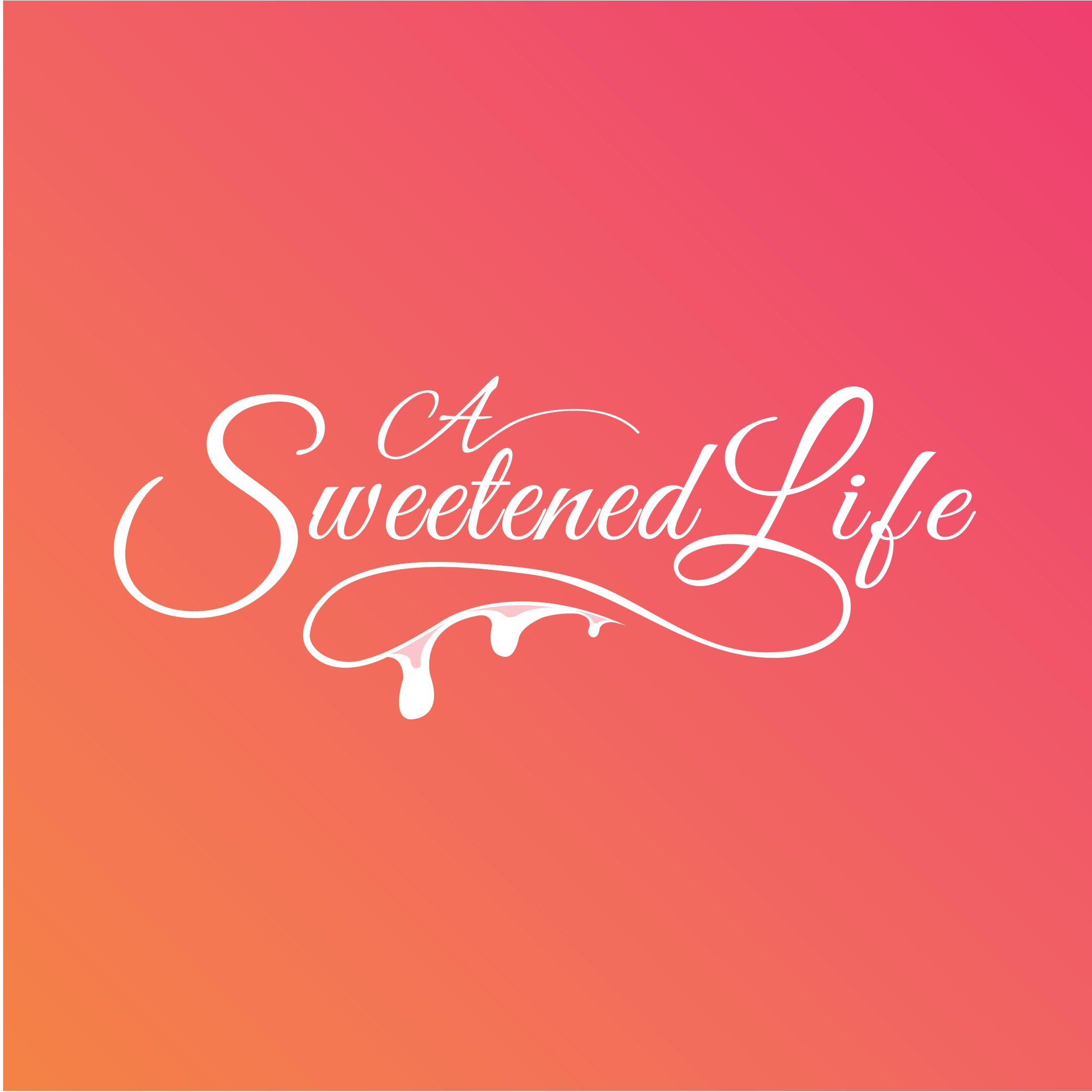 """Logo Needed for the food website: """"A Sweetened Life"""""""