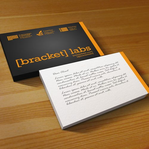 Bracket labs - Business Cards