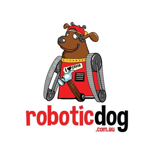 Robotic Dog Mascot
