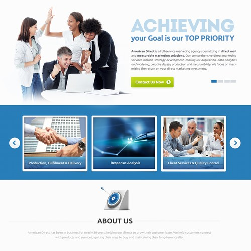 Web Design for AmericanDirect