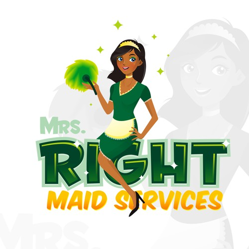 Logo Mr. Right