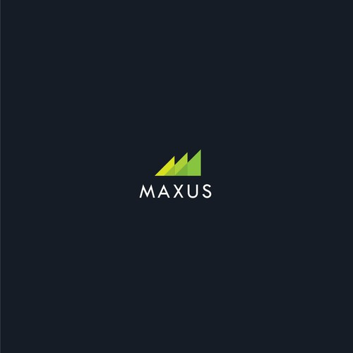Growth logo concept for Maxus
