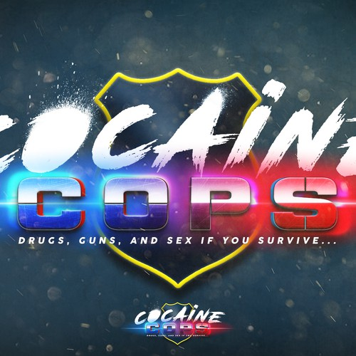 Cocain cops game logo