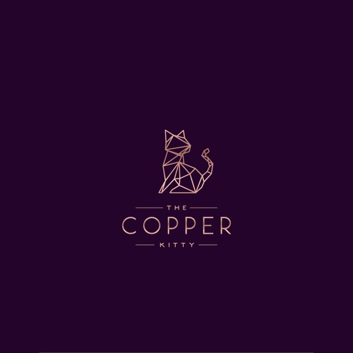 Logo for The Copper Kitty