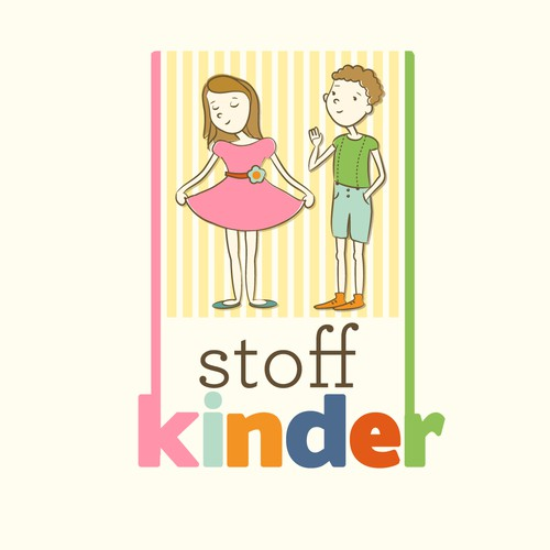 STOFFKINDER offers creative freedom for cool & funny, lovely & emotional LOGO