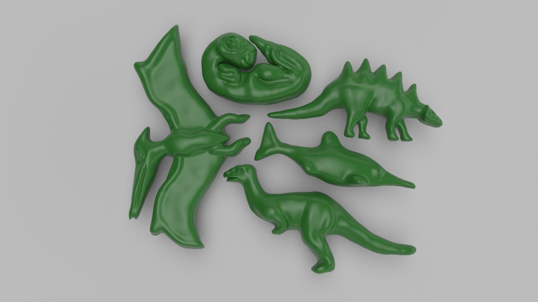 Dinosaur Theme Style Silicone Molds