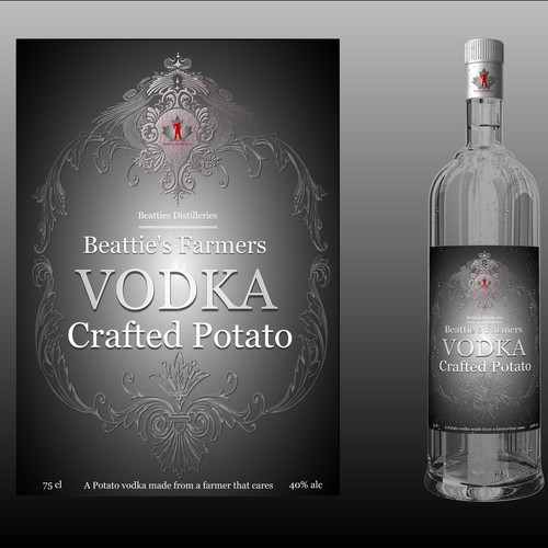 BRAND NEW ALCOHOL BRIEF - UBER COOL CRAFT VODKA !!!