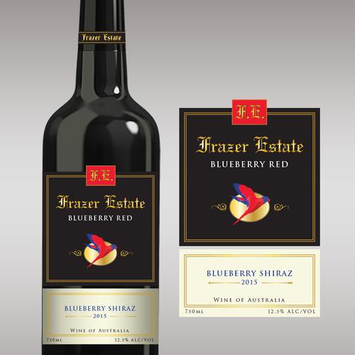 Design a new wine label