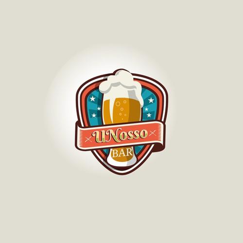 Logo for Pub!! Logotipo para um bar/restaurante alegre e agitado! Umbar de amigos!
