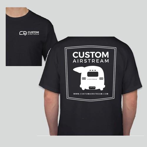 Custom Airstream T Shirt
