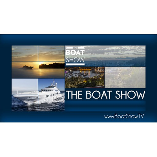 Powerpoint template per il programma TV The Boat Show
