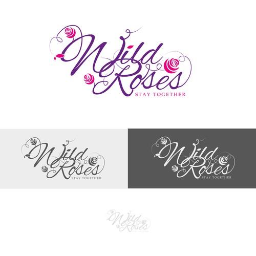 Wild Roses logo concept