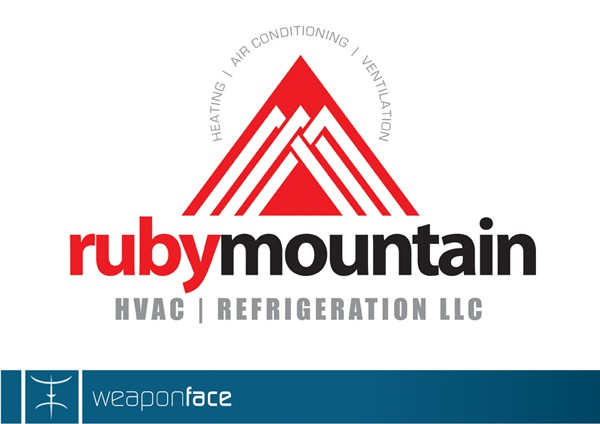 Help Ruby Mountain HVAC & Refrigeration LLC with a new logo