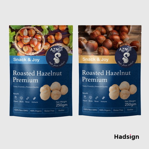 Hazelnut Packaging For Aznut
