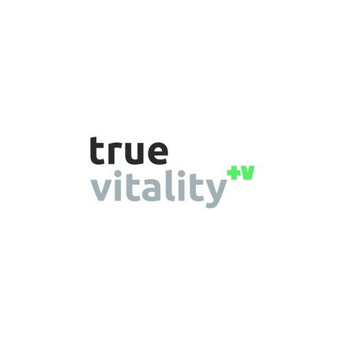 True Vitality Custom Logo Design