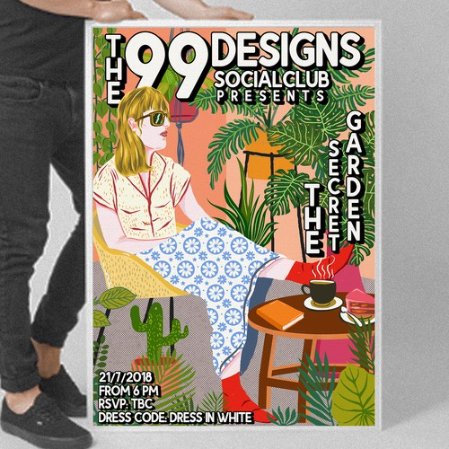 the 99designs socialclub