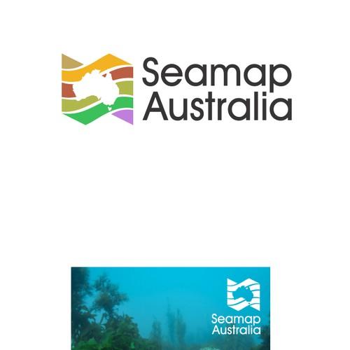 Logo for Seamap Australia
