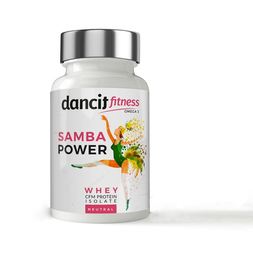DANCE COMPANY needs label for multiple supplements