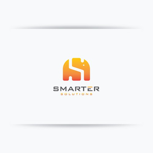 Bold logo concept for Smarter Solutions