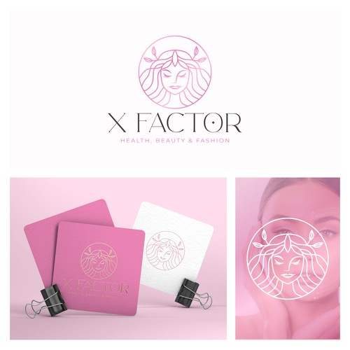 feminine logo design for beauty brand