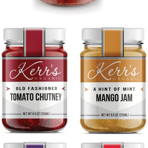 Kerr's Organic Label