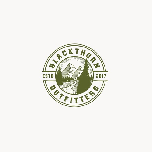 Logo for Blackthorn Outfitters