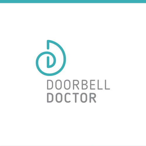 Modern and abstract medical logo