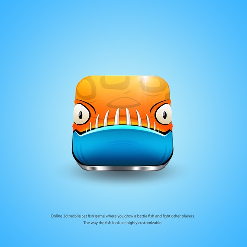 Battle Fish Game Icon