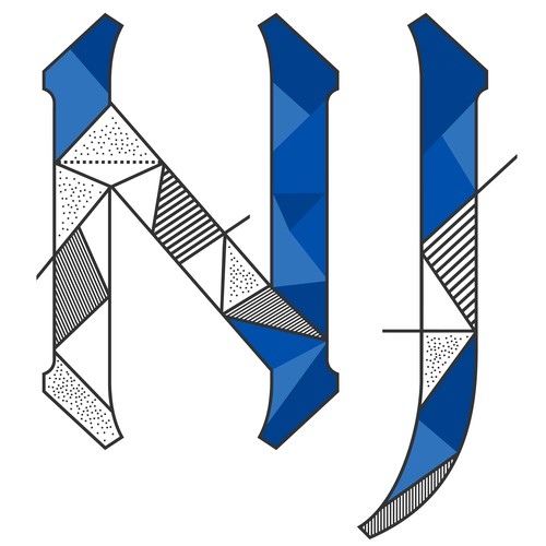 Desain ulang Logo Kota Pintar Hoboken